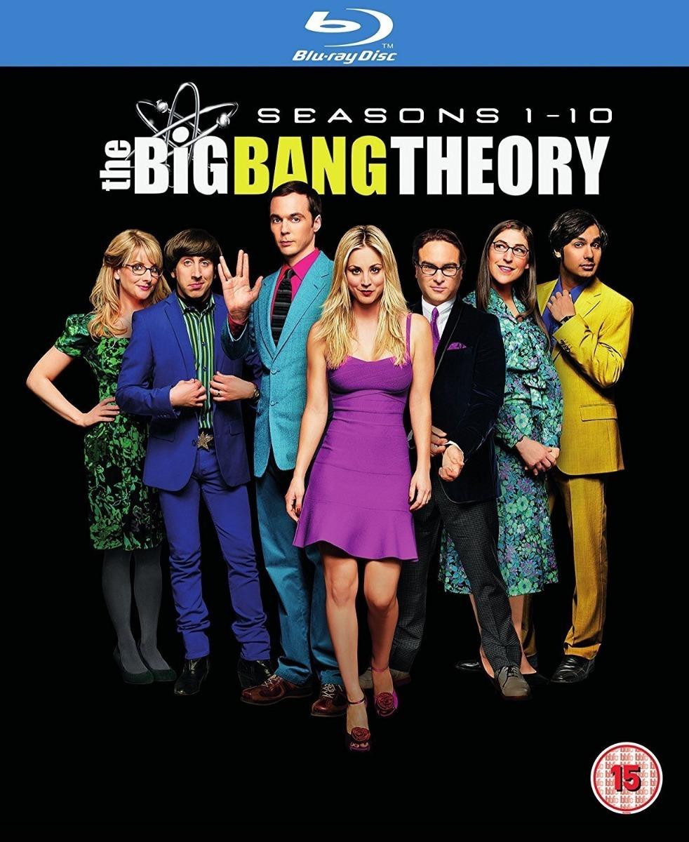 The Big Bang Theory Temporadas 1 10 Bluray Original