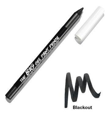 the big gel paint pencil - gel delineador preto para olhos mark v.04/21