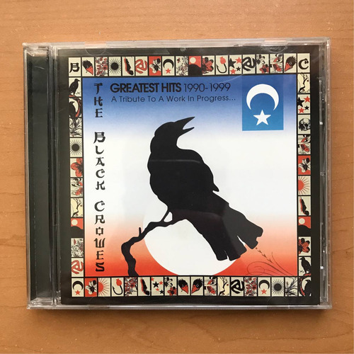 the black crowes - greatest hits 1990/1999, cd usado. import