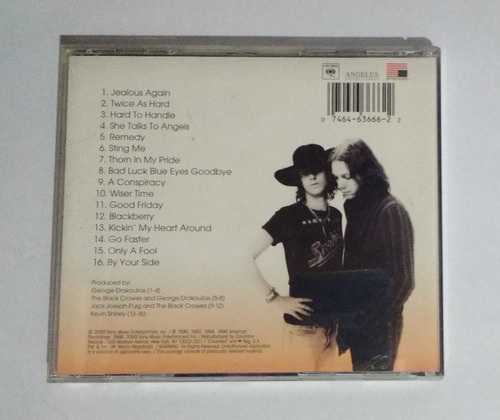 the black crowes - the greatest hits 1990-1999 cd importado