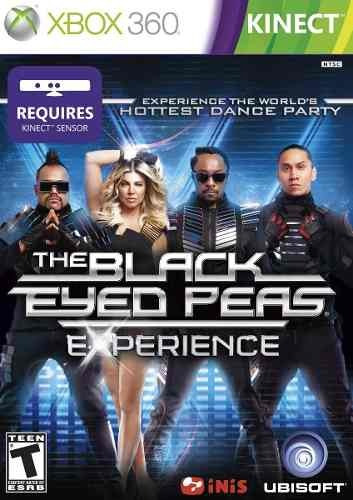 the black eyed peas xbox 360 original frete r$12  kinect