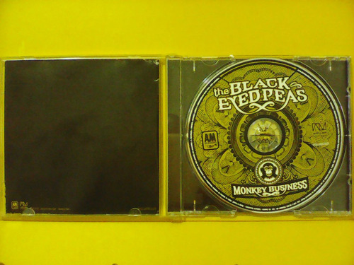 the black eyedpeas - monkey business - cd