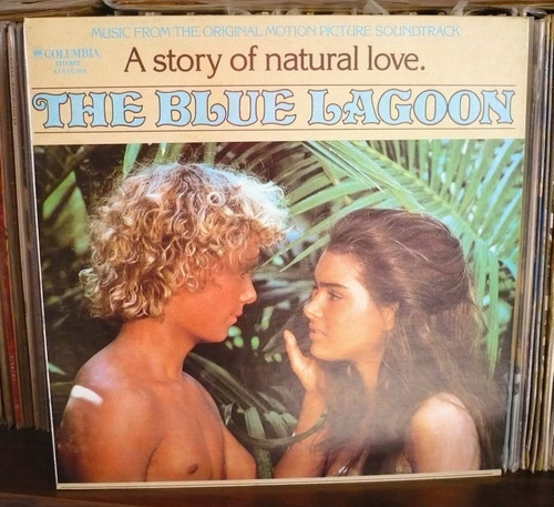 the blue lagoon lp soundtrack la laguna azul b. poledouris