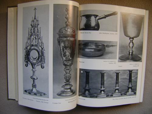 the book of old silver marcas de prata ilustrado, ver desc.