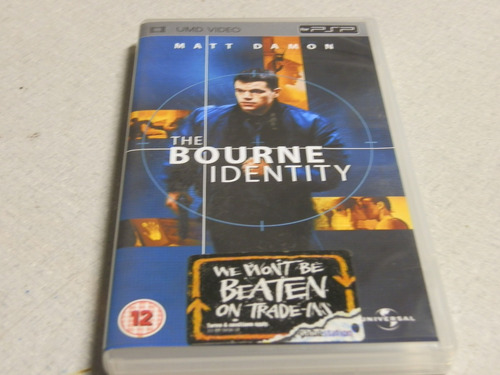 the bourne identity psp usado