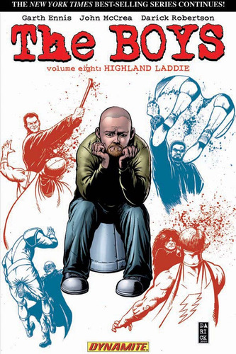 the boys: vol 8 highland laddie - novedad - tp