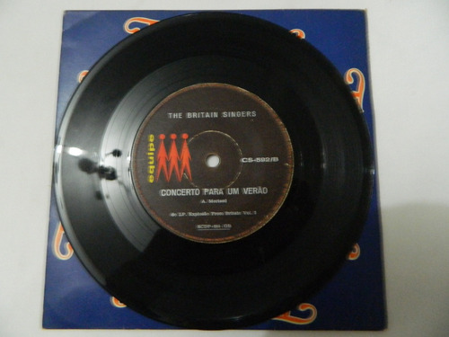the britan singers - alone again - compacto ep 67
