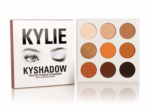 the bronze palette | kyshadow sombras para ojos kylie