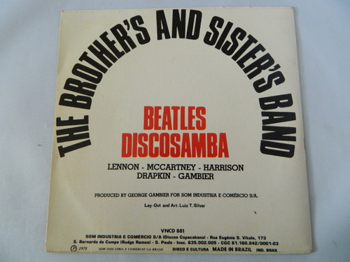 the brother's and sister's band - beatles discosamba - ep 49