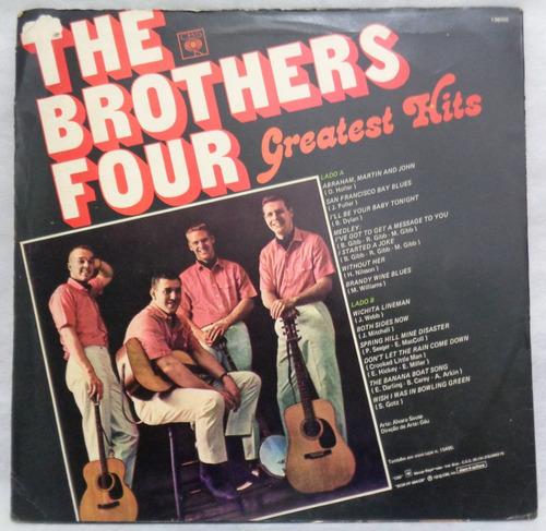 the brothers four lp nacional usado greatest hits 1978