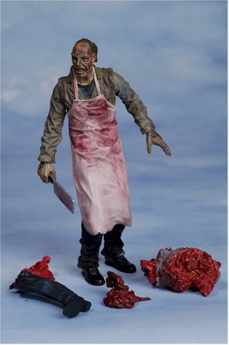 the butcher - land of the dead - zombie - mcfarlane toys