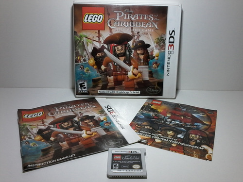 the caribbean 3ds lego pirates