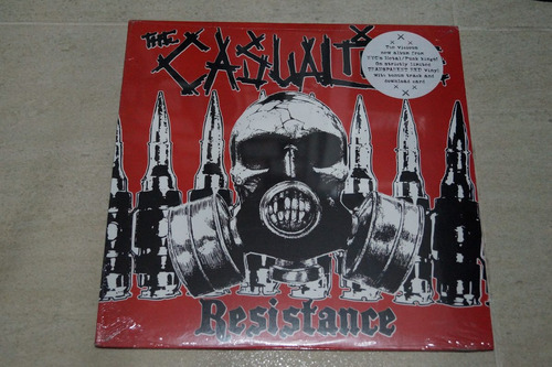 the casualties resistance vinilo rock activity