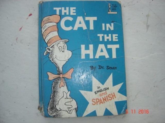 56047ea8 The Cat In The Hat El Gato Ensombrerado Inglés Español - $ 125.00 en ...