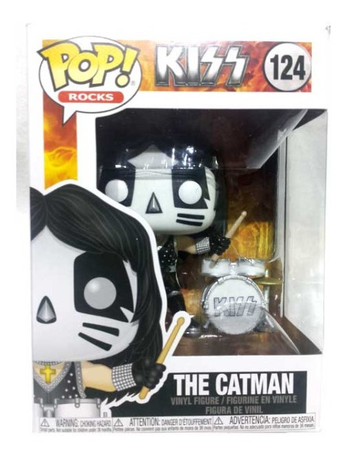 Kiss Figura de vinilo Pop Rocks Catman