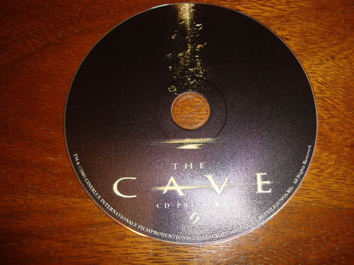 the cave -cd press kit-lobby card-cine-