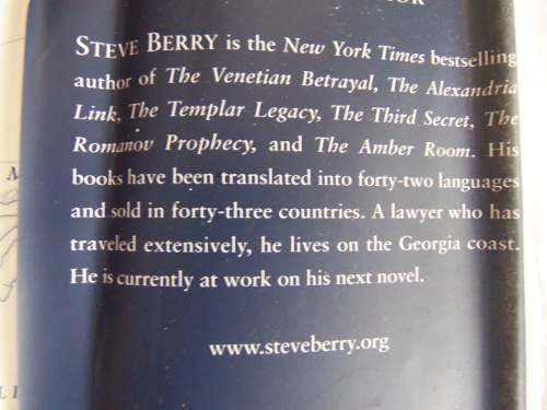 the charlemagne pursuit steve berry en ingles tapa dura