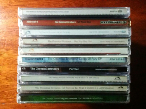the chemical brothers cds