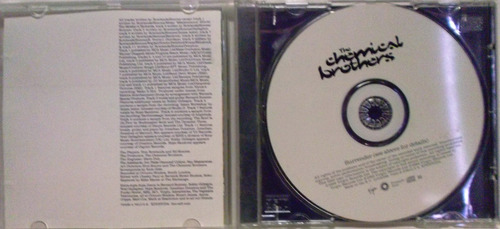 the chemical brothers - surrender (cd album), usado