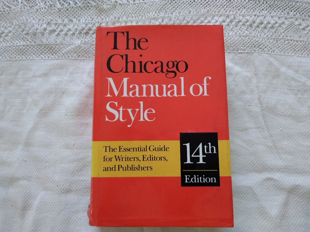 the chicago manual of style 14th edition chicago press. Cargando zoom.