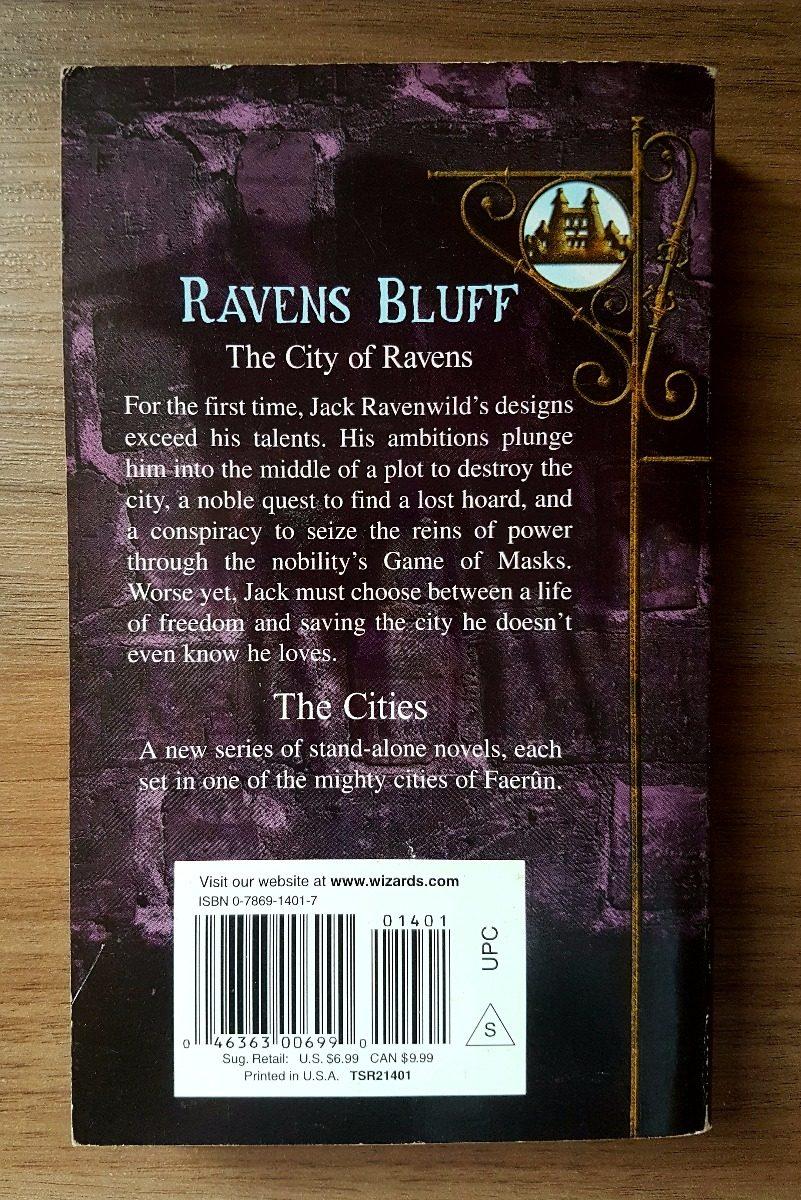 The City Of Ravens - Forgotten Realms Novel - Rpg