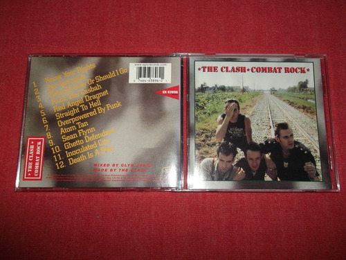 the clash - combat rock cd imp ed 1999 mdisk