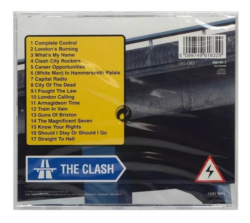 the clash from here to eternity (cd novo lacrado import uk)