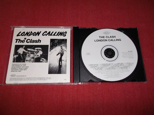 the clash - london calling cd usa ed 1999 mdisk