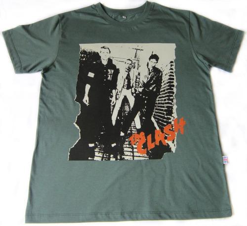 the clash *  primeiro album -  camiseta