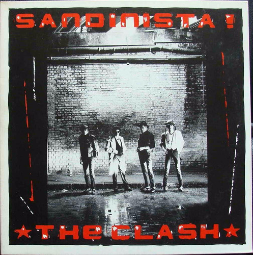 the clash - sandinista vinilo japon