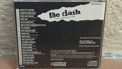 the clash - the collection (edicion australiana).