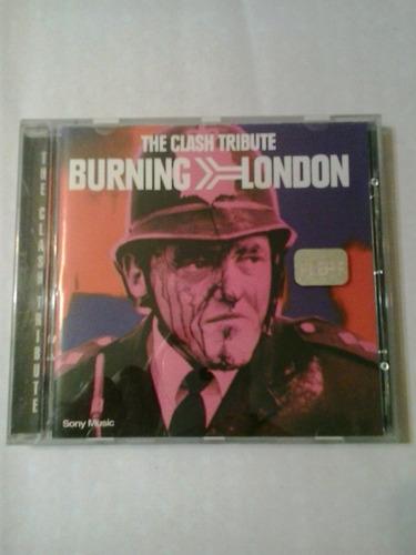the clash tribute burning london sony 1999