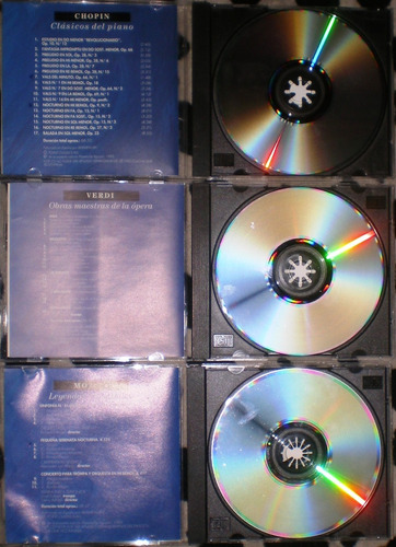 the classic collection - lote de 7 cds ex