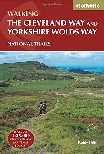 the cleveland way and the yorkshire wolds way : paddy dillo