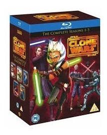 the clone wars  guerras clónicas  serie completa  en blu-ray