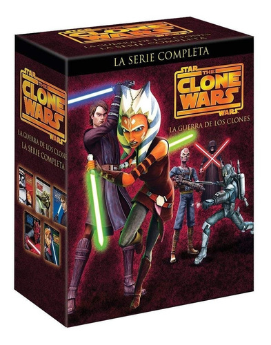 the clone wars la serie completa dvd temporadas 1 - 5