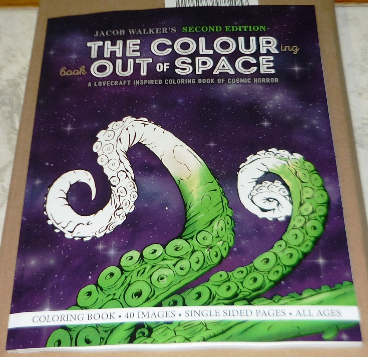 The Colouring Book Out Of Space Libro Para Colorear - $ 299.00 en ...