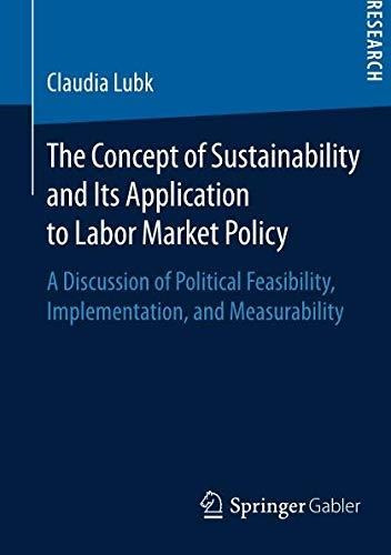 the concept of sustainability and its application to labor