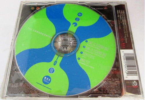 the cranberries - time is ticking out single nuevo cd