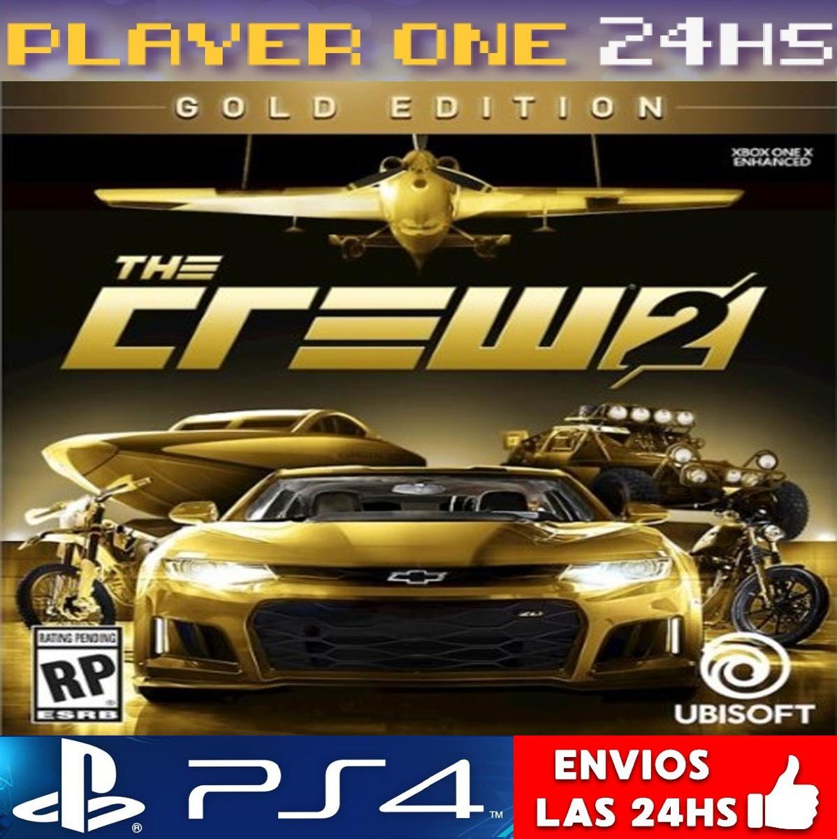 The Crew 2 Gold Edition Ps4 Digital Juga De Invitado