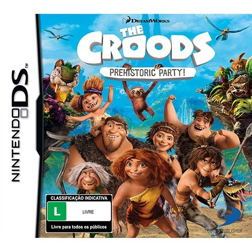 the croods phehistoric party ! nintendo ds