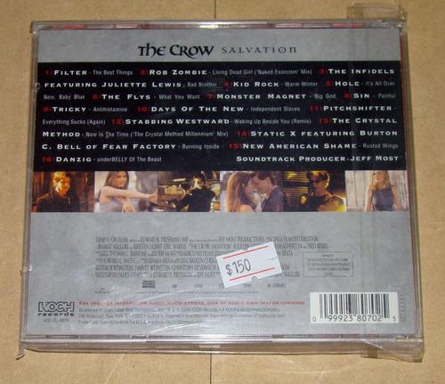 the crow salvation cd excelente estado usa / kktus