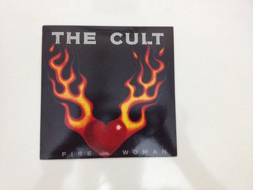 the cult - fire woman - 7 polegadas