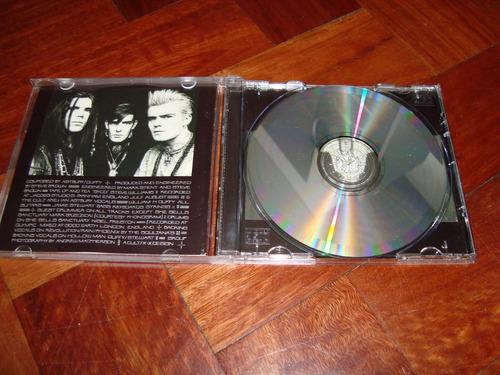 the cult love cd made in england ( como nuevo)