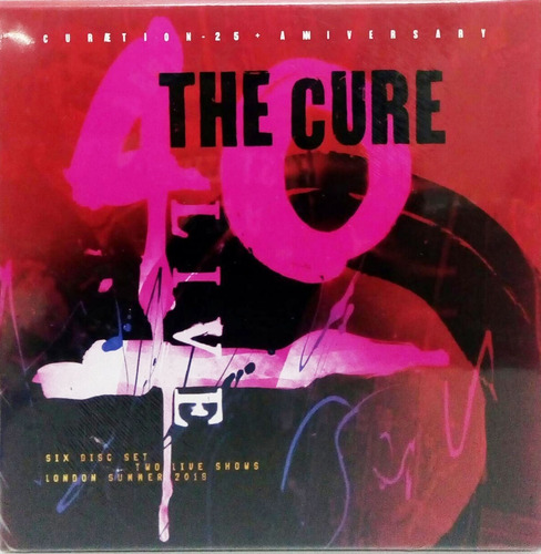 the cure 40 live curaetion 25 + anniv. blu-ray importado