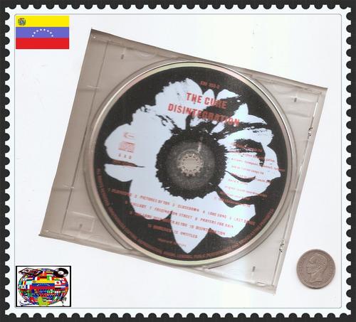 the cure - cd original - un tesoro musical