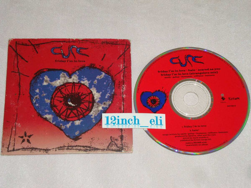 the cure friday im in love halo cd promo elecktra 1992 - 2