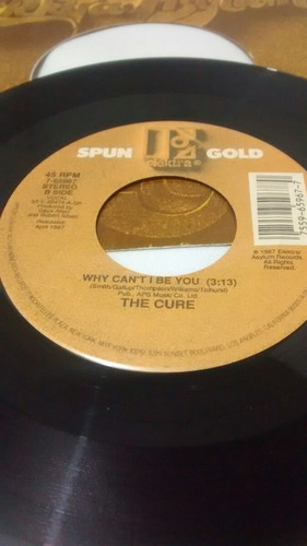 the cure single 7  hot hot hot / bauhaus joy division sister