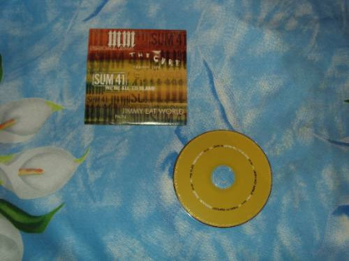 the cure taking off cd promocional