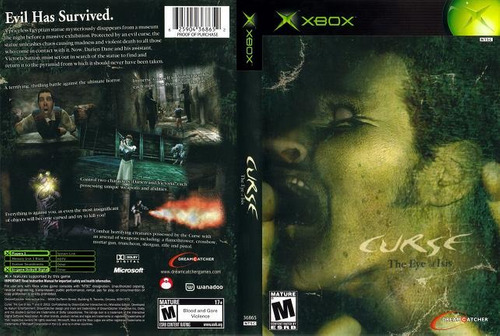 the curse the eye of isis    xbox *